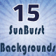 15 SunBurst Backgrounds - VideoHive Item for Sale
