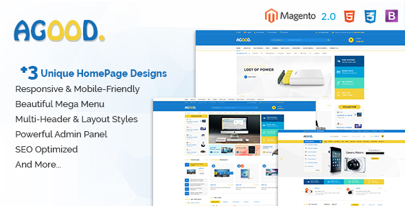Agood – Responsive Multipurpose Magento 2 Theme