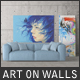 Art On Walls - Canvas Mockups - Frame Mockups - Wall Mockups Vol 3 - GraphicRiver Item for Sale