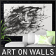 Art On Walls - Canvas Mockups - Frame Mockups - Wall Mockups Vol 4 - GraphicRiver Item for Sale