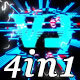 Vj Glitch - VJ Loop Pack (4in1)