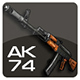 AK-74 Assault Rifle - 3DOcean Item for Sale