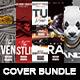 Cover Bundle | 5 Urban Album CD Mixtape Template - GraphicRiver Item for Sale