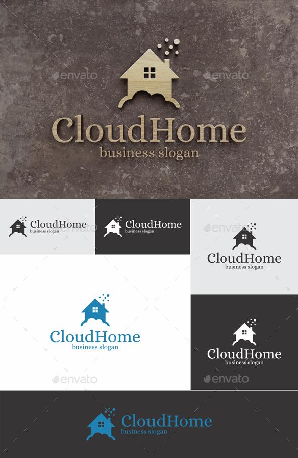 Cloud Home - Buildings Logo Templates