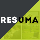 Resuma - Personal Portfolio & Work Portfolio Responsive Resume HTML Template - ThemeForest Item for Sale
