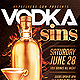 Vodka Drinks Flyer Template - GraphicRiver Item for Sale