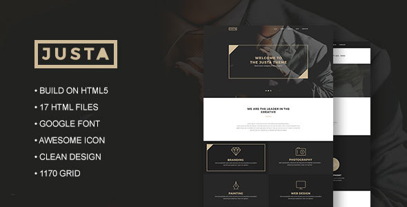 Justa – Business HTML5 Template