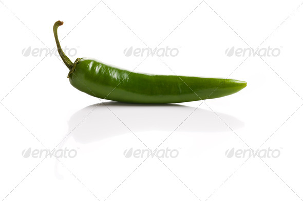 Jalapenos Chili Peppers - Stock Photo - Images