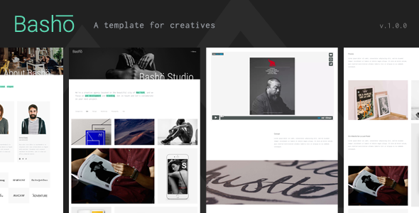 Basho – A Creative HTML5 Template for Freelancers & Agencies