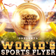 Worlds Sports Games Flyer - GraphicRiver Item for Sale