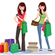 Shopping Girl - GraphicRiver Item for Sale
