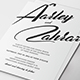 Simple Wedding Invitation Set - GraphicRiver Item for Sale