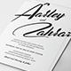Simple Wedding Invitation Set - GraphicRiver Item for Sale
