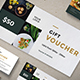 Restaurant Voucher - GraphicRiver Item for Sale