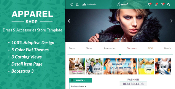 Apparel – Clothes and Accessories WooComerce Theme
