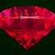 Diamond red ruby rotating - VideoHive Item for Sale