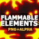 Flammable Fx Elements - VideoHive Item for Sale