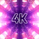 4k Shine Cybernetic Tunnel Vj Loop - VideoHive Item for Sale