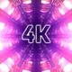 4k Shine Cybernetic Tunnel Vj Loop - VideoHive Item for Sale