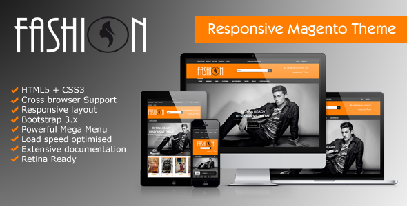 Fashion - Responsive Magento Theme | Fashion