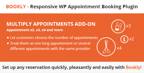 Bookly Multiply Appointments (Add-on) - CodeCanyon Item for Sale
