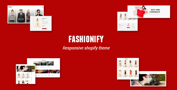 Image of Fashionify - Responsive UX Shopify Theme