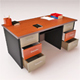 Office Desk Vray - 3DOcean Item for Sale