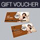 Beauty Gift Voucher - GraphicRiver Item for Sale