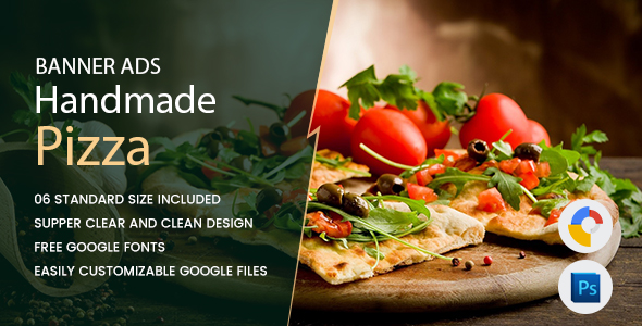 Pizza Banners HTML5 - GWD - CodeCanyon Item for Sale