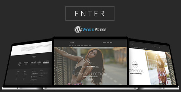 Enter - Fashion & Look Book WooCommerce Theme - Fashion Retail