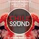Chill Sound | Futuristic Alternative Flyer PSD Template - GraphicRiver Item for Sale
