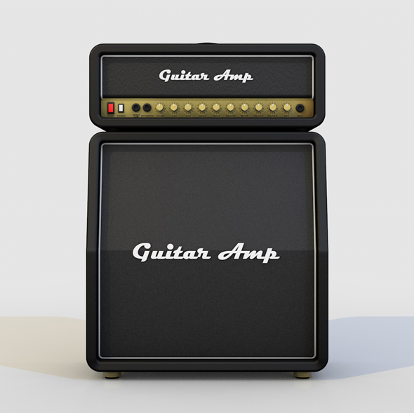 GUITAR ROCK AMPLIFIER - 3DOcean Item for Sale