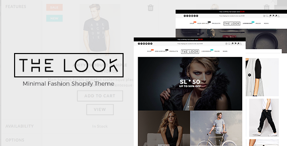 Minimal Fashion Shopify Theme – The Look