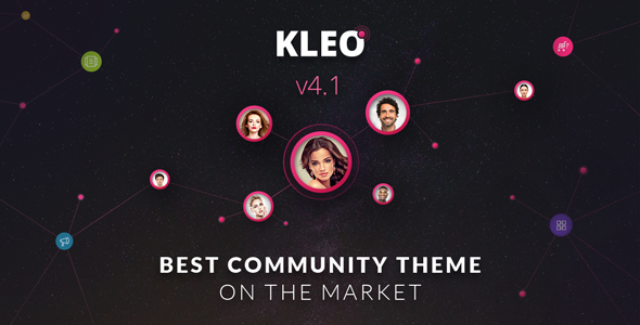 KLEO – Pro Community Focussed, Multipurpose BuddyPress Theme