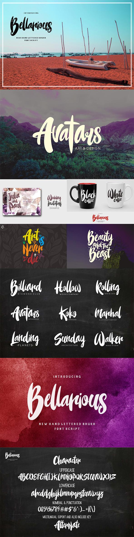Bellarious - Fonts