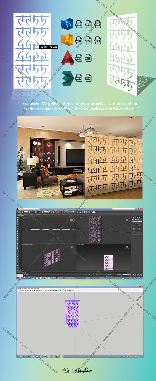 Script (3D screen) PD_A02 - 3DOcean Item for Sale