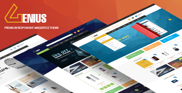 Image of Genius - Multipurpose Responsive Magento 2 Theme