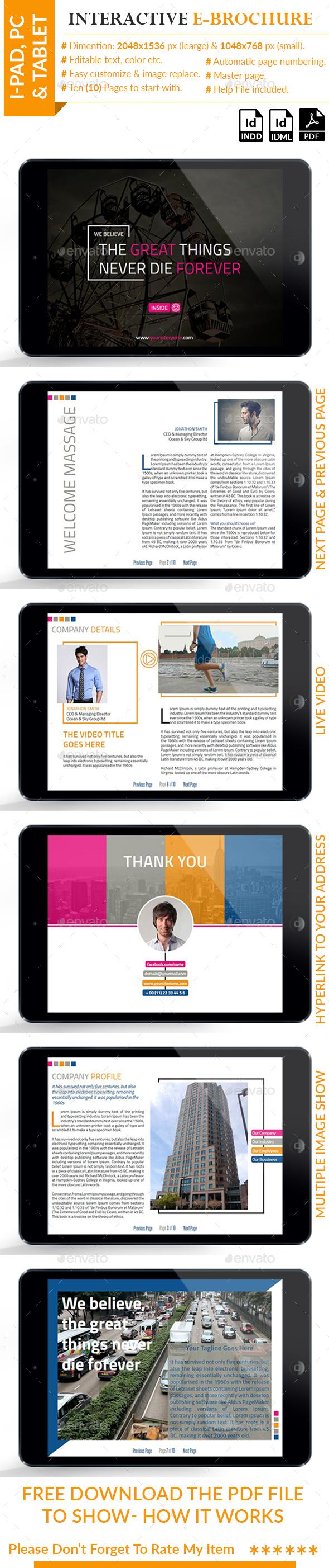 Interactive E-Brochure - Digital Books ePublishing