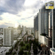 Sunset Miami Downtown Office Buildings Panorama. - VideoHive Item for Sale