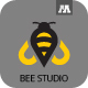 Bee Studio Logo - GraphicRiver Item for Sale