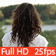 Young Woman Looking at the Landscape - VideoHive Item for Sale