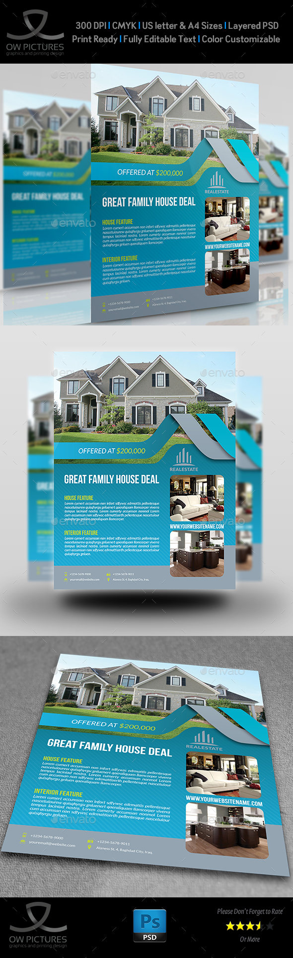 Real Estate Flyer Vol.13