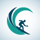 Surfer Logo - GraphicRiver Item for Sale