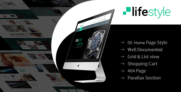 LifeStyle – eCommerce Multi-Purpose WordPress Theme