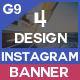 Multipurpose Instagram - 4 Design - GraphicRiver Item for Sale