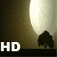 Snow and moon Night - VideoHive Item for Sale