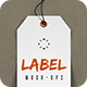 Paper Label Tags Mock-up - GraphicRiver Item for Sale