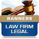 Law Firm Legal Attorney Banners - HTML5 Animated GWD - CodeCanyon Item for Sale