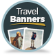 Multipurpose Travel Agency Banners - HTML5 Animated GWD - CodeCanyon Item for Sale