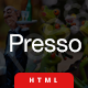 Presso | The Multi-Purpose HTML5 Template